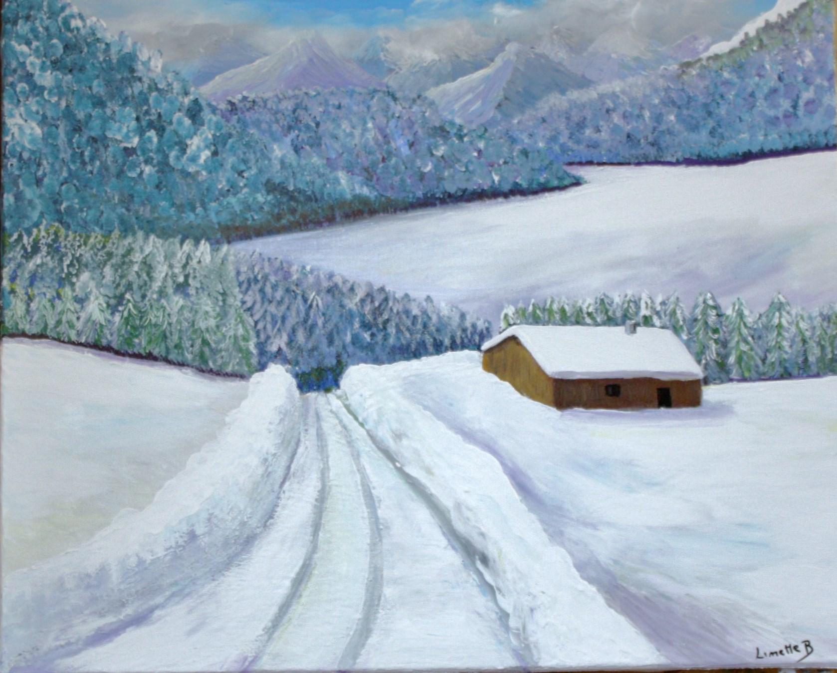 Temps neigeux